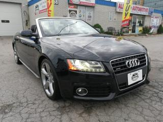 Used 2011 Audi A5 Premium Plus_Convertible_S-Line_AWD_Navi_Camera for sale in Oakville, ON