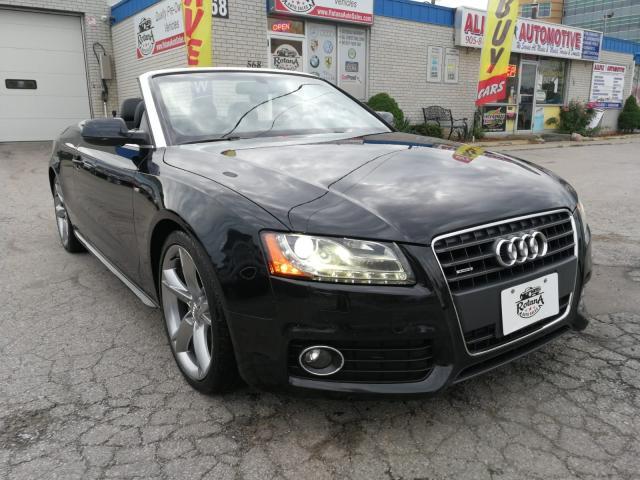 2011 Audi A5 Premium Plus_Convertible_S-Line_AWD_Navi_Camera