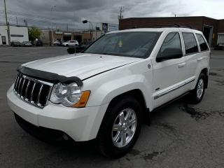 Used 2008 Jeep Grand Cherokee 4 RM 4 portes Laredo for sale in Montréal-Nord, QC