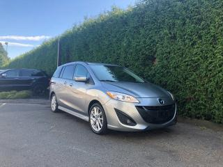 Used 2013 Mazda MAZDA5 GT + 6 PASSENGER + SUNROOF + RR PARK ASSIST + NO EXTRA DEALER FEES for sale in Surrey, BC