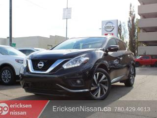 Used 2015 Nissan Murano PLATINUM l AWD l Heated Seats l Roof l Cooled Seats for sale in Edmonton, AB