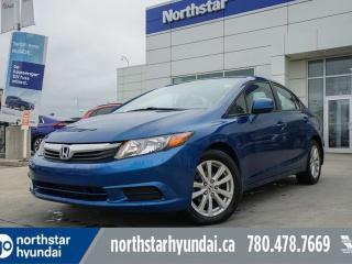 Used 2012 Honda Civic Sdn EX AUTO/SUNROOF/BLUETOOTH/ECO/CRUISE for sale in Edmonton, AB