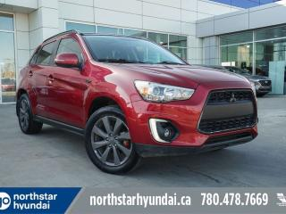 Used 2015 Mitsubishi RVR GT AWD/LEATHER/SUNROOF/BACKUPCAM for sale in Edmonton, AB