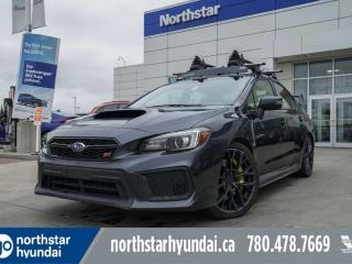 Used 2018 Subaru WRX STI SPORT/LEATHER/ROOF/ROOFRACKS/BACKUPCAM for sale in Edmonton, AB