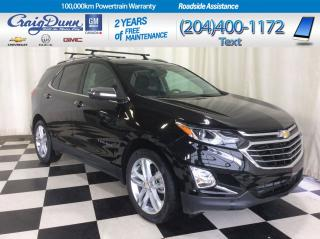Used 2019 Chevrolet Equinox * PREMIER 2.0T AWD * HEATED SEATS * SUNROOF * for sale in Portage la Prairie, MB
