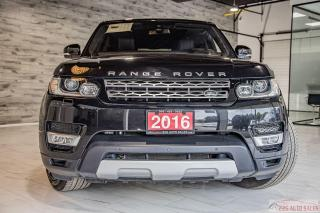 Used 2016 Land Rover Range Rover Sport Td6 HSE|ACCIDENT FREE|DIESEL|NAV|LEATHER|4X4 for sale in Brampton, ON