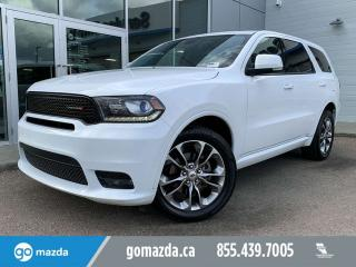 Used 2019 Dodge Durango GT AWD LEATHER SUNROOF BACKUP CAM for sale in Edmonton, AB