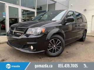 Used 2018 Dodge Grand Caravan GT LEATHER POWER DOOR BLUETOOTH VERY NICE for sale in Edmonton, AB