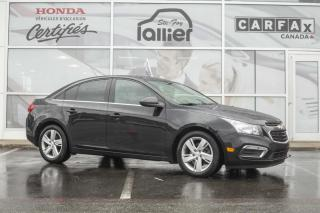 Used 2015 Chevrolet Cruze diesel ***JAMAIS ACCIDENTE*** for sale in Québec, QC