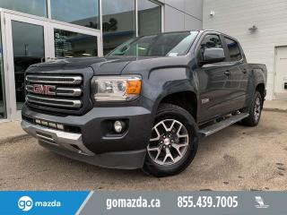 Used 2015 GMC Canyon SLE ALL TERRAIN 4X4 CREW LOTS OF EXTRA'S for sale in Edmonton, AB
