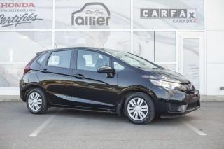 Used 2016 Honda Fit LX ***GARANTIE GLOBALE JUSQU'EN AVRIL 20 for sale in Québec, QC