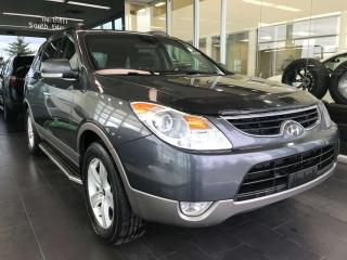 Used 2012 Hyundai Veracruz Limited w/Nav AWD, ACCIDENT FREE, POWER HEATED LEATHER SEATS, CRUISE CONTROL, KEYLESS IGNITION for sale in Edmonton, AB