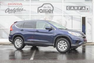 Used 2016 Honda CR-V SE AWD ***GARANTIE GLOBALE JUSQU'EN AVRI for sale in Québec, QC