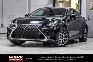 Used 2016 Lexus RC 350 F SPORT II AWD; **RESERVE / ON-HOLD** V6 307 CHEVAUX - INTÉRIEUR ROUGE - NAVIGATION - MONITEUR ANGLES MORT - AUDIO PREMIUM MARK LEVINSON for sale in Lachine, QC
