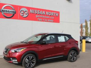 Used 2019 Nissan Kicks SR/LEATHER/360 CAM/BOSE PERSONAL for sale in Edmonton, AB
