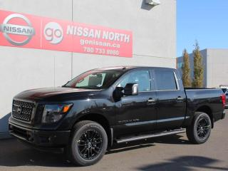 Used 2019 Nissan Titan SL/Midnight Edition/4X4/CREW CAB/LEATHER for sale in Edmonton, AB