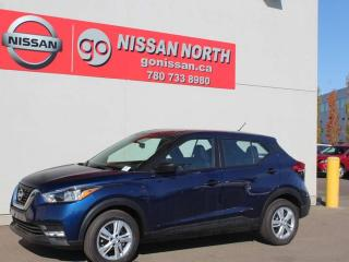Used 2019 Nissan Kicks S/BACKUP CAM/STEERING WHEEL CONTROLS for sale in Edmonton, AB