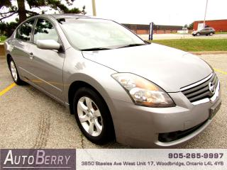 Used 2007 Nissan Altima 2.5L - S - 6 Speed for sale in Woodbridge, ON