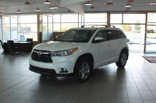 Used 2015 Toyota Highlander LIMITED  for sale in Calgary, AB