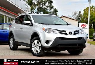 Used 2015 Toyota RAV4 ***RÉSERVÉ***LE FWD for sale in Pointe-Claire, QC