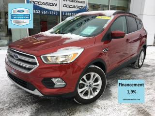 Used 2017 Ford Escape SE AWD 2.0L CERTIFIÉ FORD TAUX 1.9% 72 M for sale in St-Georges, QC