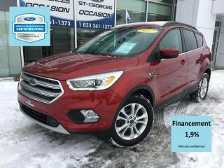 Used 2017 Ford Escape SE AWD 201 A CERTIFIÉ FORD TAUX 1.9% 72 for sale in St-Georges, QC