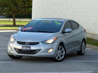 Used 2011 Hyundai Elantra LIMITED,NAVIGATION,LEATHER,REAR-CAM,FULLY LOADED for sale in Mississauga, ON