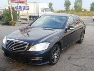 Used 2007 Mercedes-Benz S-Class V8 Navigation, Camera for sale in Mississauga, ON