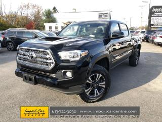 Used 2016 Toyota Tacoma SR5 TRD SPORT  ROOF  NAVI  BLIS  BACKUP CAMERA for sale in Ottawa, ON