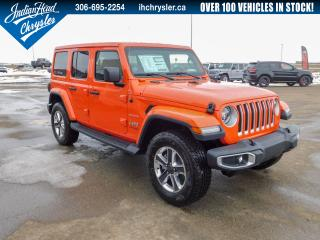 New 2020 Jeep Wrangler Unlimited Sahara 4x4 | Leather for sale in Indian Head, SK