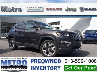 Used 2018 Jeep Compass Limited - 4X4 Loaded for sale in Ottawa, ON