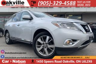 Used 2014 Nissan Pathfinder PLATINUM | 360 CAM | NAVI | LEATHER | PANO for sale in Oakville, ON