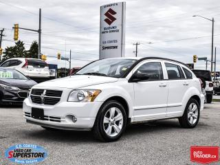 Used 2012 Dodge Caliber SXT ~Heated Seats ~Fog Lamps ~Alloy Wheels for sale in Barrie, ON