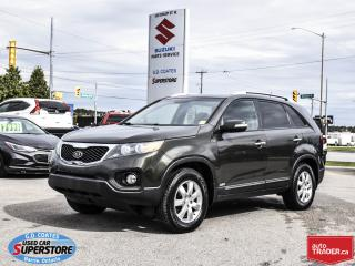 Used 2012 Kia Sorento LX AWD ~Heated Seats ~Alloy Wheels ~Bluetooth for sale in Barrie, ON