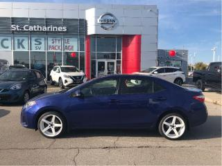 Used 2015 Toyota Corolla 4dr Sdn CVT S for sale in St. Catharines, ON