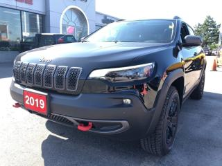 Used 2019 Jeep Cherokee Trailhawk Elite for sale in Hamilton, ON