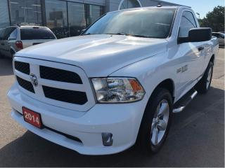 Used 2014 RAM 1500 Express Reg Cab 4x2 V8 w/Side Steps, Power Group, for sale in Hamilton, ON