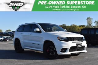 Used 2017 Jeep Grand Cherokee SRT - Low Kms, Roof Rack, Must See for sale in London, ON