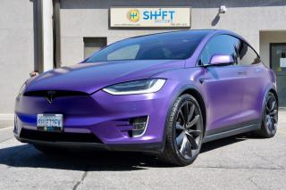 Used 2017 Tesla Model X 100D AUTOPILOT, FULLY LOADED, SATIN PURPLE WRAP, CARFAX CLEAN! for sale in Burlington, ON