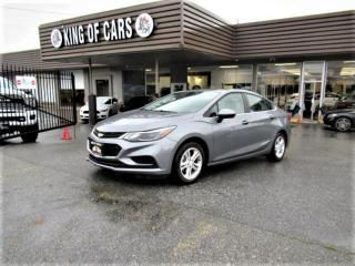 Used 2018 Chevrolet Cruze LT for sale in Langley, BC