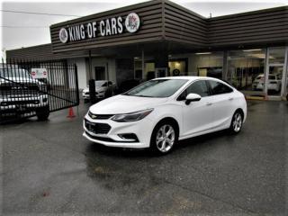 Used 2018 Chevrolet Cruze Premier for sale in Langley, BC