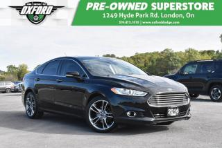 Used 2016 Ford Fusion Titanium - One Owner, Great Shape, GPS for sale in London, ON