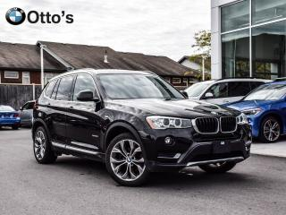 Used 2016 BMW X3 xDrive28i NAVI, LOADED for sale in Ottawa, ON