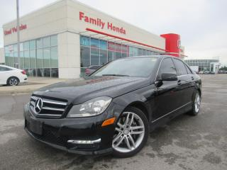 Used 2014 Mercedes-Benz C-Class C300 4MATIC | LEATHER | NAVIGATION for sale in Brampton, ON