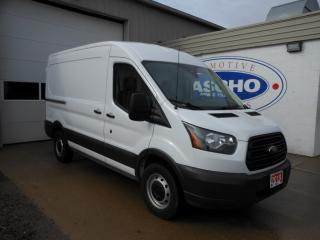 Used 2018 Ford Transit VAN T-250 Med Roof 130 WB Partition w Sliding Door for sale in Kitchener, ON