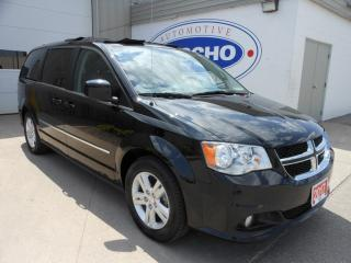 Used 2017 Dodge Grand Caravan Crew w/Heated Leather Power Doors for sale in Kitchener, ON