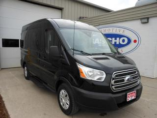 Used 2019 Ford Transit VAN T-150 8 Pass Med Roof XLT 130wb Sliding Door for sale in Kitchener, ON