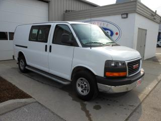Used 2017 GMC Savana 2500 Cargo Van/Sliding Door/Partition/Side Steps for sale in Kitchener, ON