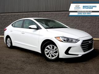Used 2017 Hyundai Elantra LE  - Bluetooth -  Heated Seats - $105 B/W for sale in Brantford, ON