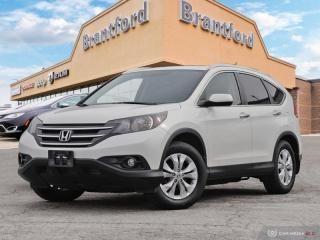Used 2012 Honda CR-V Touring - Navigation -  Leather Seats - $170 B/W -  - $167 B/W for sale in Brantford, ON